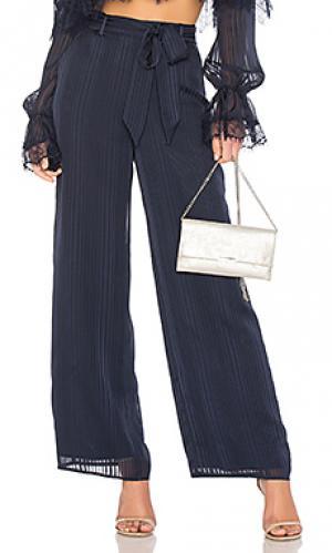Широкие брюки pants Tularosa. Цвет: синий
