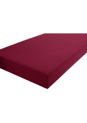Натяжная простыня Heine Home. Цвет: белый, бордовый, серый, телесный, черный