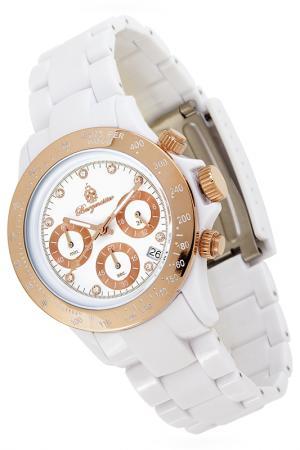 Quartz watch Burgmeister. Цвет: white and gold