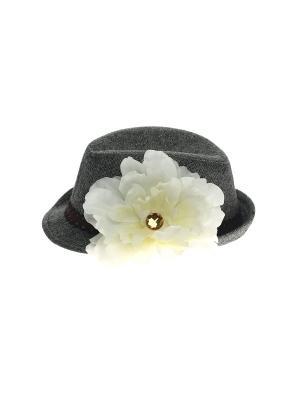 Шляпа Jane Flo. Цвет: серый