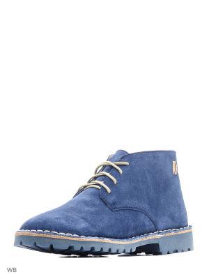 Ботинки renne. Цвет: синий