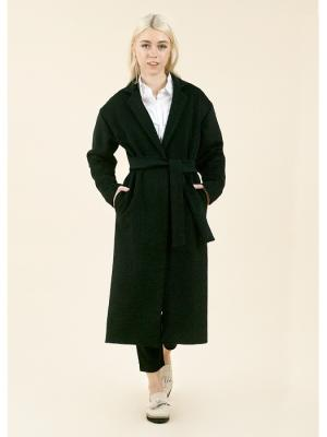 Пальто-халат (пиковая дама) MONOROOM. Цвет: черный