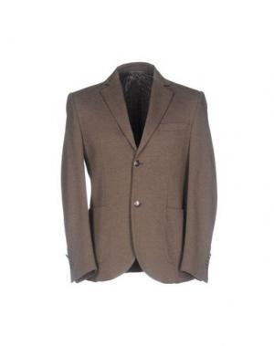 Пиджак BARBATI. Цвет: хаки