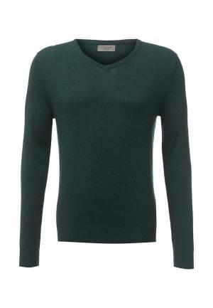 Пуловер Colins Colin's. Цвет: бирюзовый
