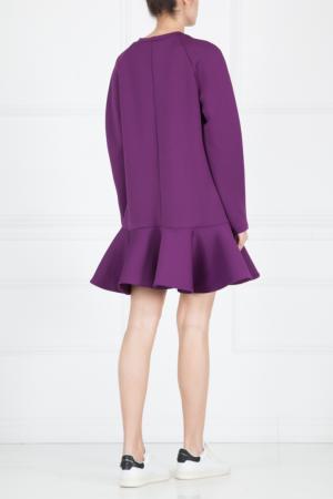 Однотонное платье Cameo. Цвет: фиолетовый
