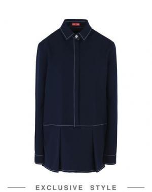 Блузка ARTHUR ARBESSER x YOOX. Цвет: темно-синий
