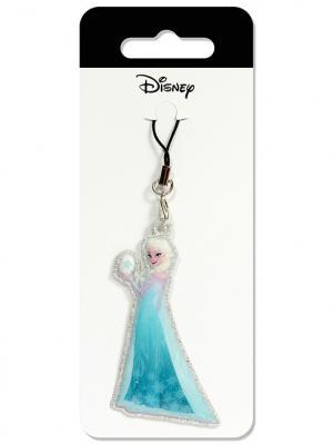 Брелок дисней холодное сердце эльза Disney. Цвет: голубой, бежевый, белый