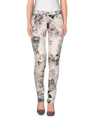 Повседневные брюки FRANKIE B.. Цвет: бежевый