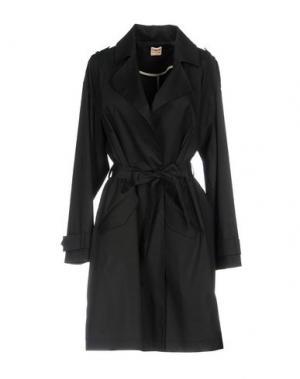 Легкое пальто JEY COLE MAN. Цвет: черный