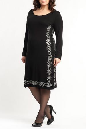 Платье Moda di Lorenza. Цвет: black