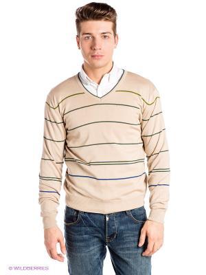 Пуловер RETIEF. Цвет: бежевый