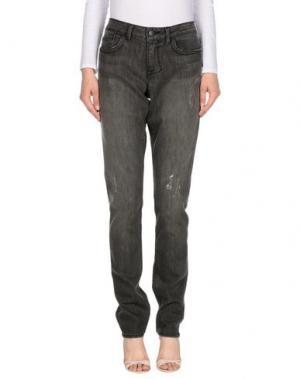 Джинсовые брюки WILLIAM RAST. Цвет: серый