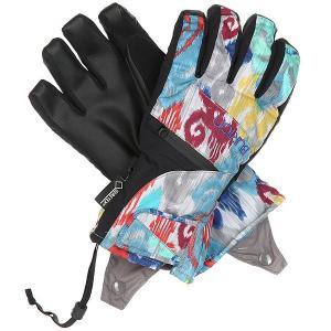Перчатки сноубордические женские  Gore Undgl Kasbah Burton. Цвет: мультиколор