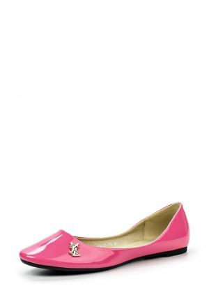 Балетки Inario. Цвет: розовый