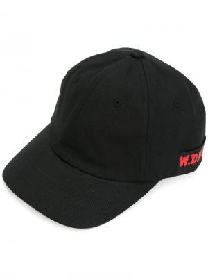 Классическая кепка D.Gnak. Цвет: чёрный