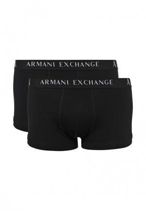 Комплект трусов 2 шт. Armani Exchange. Цвет: черный