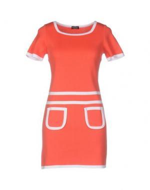 Короткое платье CHARLOTT. Цвет: коралловый