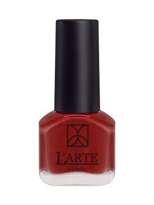 Лак для ногтей MINI LARTE, 3413, шт L'arte del bello. Цвет: красный