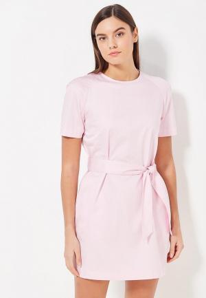 Платье Asya Malbershtein. Цвет: розовый
