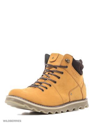 Ботинки Dino Ricci. Цвет: рыжий
