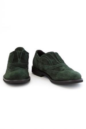 Ботинки Fabiano Ricci. Цвет: зеленый