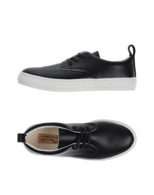 Низкие кеды и кроссовки BUDDY. Цвет: черный