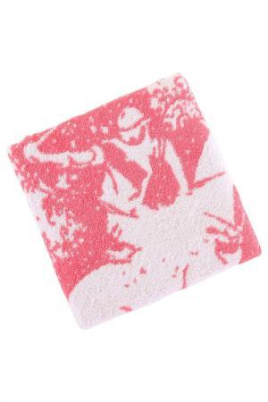Полотенце для рук, 50х100 Beverly Hills Polo Club. Цвет: white and pink