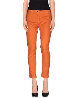 Повседневные брюки ANIYE BY. Цвет: оранжевый