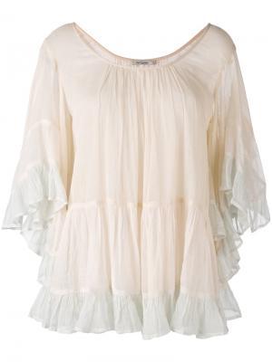 Блузка Radiance Mes Demoiselles. Цвет: телесный