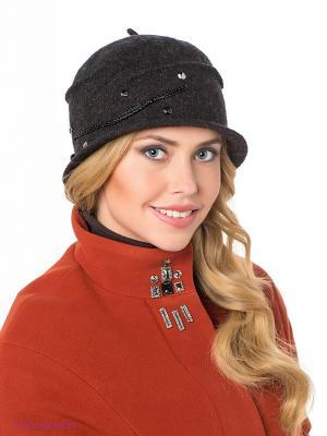 Шляпа SEEBERGER. Цвет: темно-серый