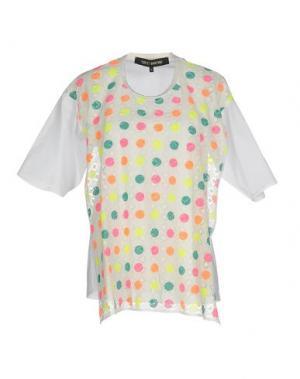 Блузка TER ET BANTINE. Цвет: белый
