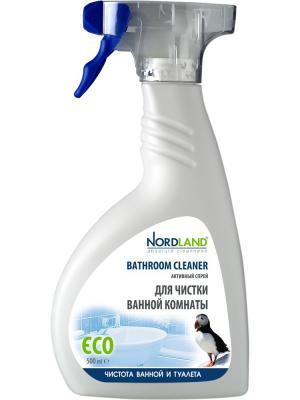 Nordland активный спрей для чистки ванной комнаты, 500 мл.. Цвет: белый