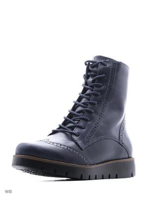 Ботинки Bottero. Цвет: темно-синий