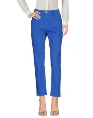 Повседневные брюки JIJIL LE BLEU. Цвет: синий