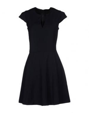 Короткое платье BELAIR. Цвет: темно-синий
