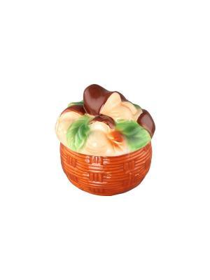 Хреновница -  баночка для специй Грибы Elan Gallery. Цвет: коричневый, зеленый