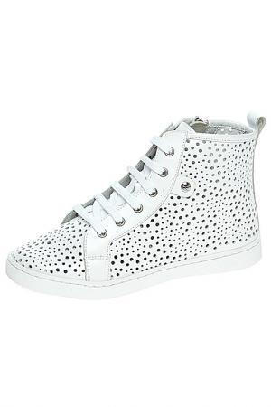 Ботинки BAILELUNA. Цвет: белый