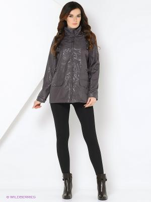 Куртка WILMA Maritta. Цвет: сливовый