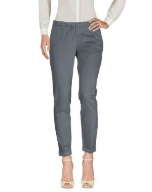 Повседневные брюки MET & FRIENDS. Цвет: серый