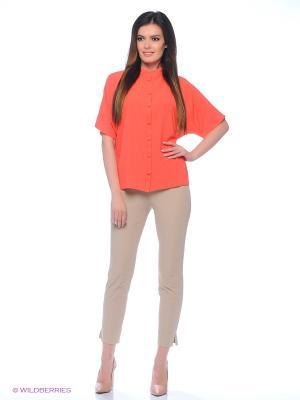 Блузка Valeria Lux 72190. Цвет: розовый, черный