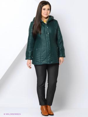 Куртка COLD WIND IS MIRAGE. Цвет: темно-зеленый