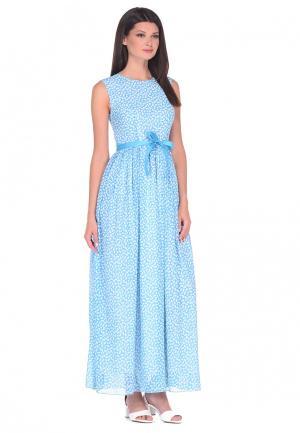 Платье IMAGO. Цвет: голубой