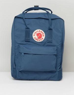 Fjallraven Синий рюкзак Kanken. Цвет: темно-синий
