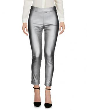 Повседневные брюки MICHELA MII. Цвет: серый