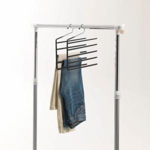 2 вешалки для брюк La Redoute Interieurs. Цвет: серый хромированный