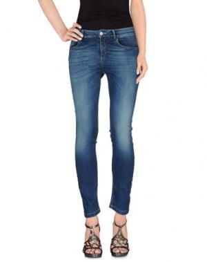 Джинсовые брюки FAIRLY. Цвет: синий