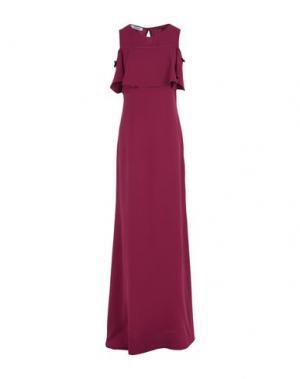 Длинное платье LALTRAMODA. Цвет: пурпурный
