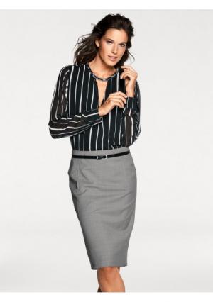 Блузка PATRIZIA DINI. Цвет: черный/белый