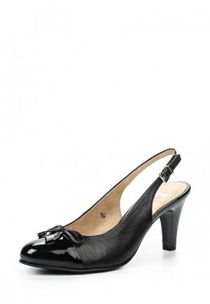 Туфли Caprice. Цвет: черный
