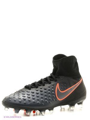 Бутсы MAGISTA ORDEN II FG Nike. Цвет: черный